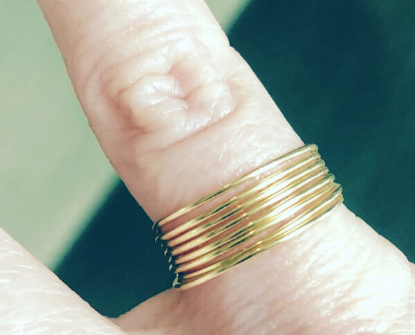 gold wire ring