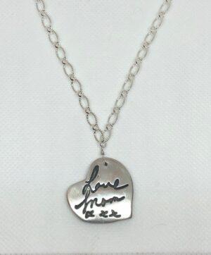Signature heart necklace