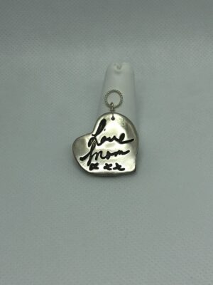 Handwriting charm